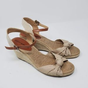 Lucky Brand Krizhy Sandals Espadrille Size 9.5